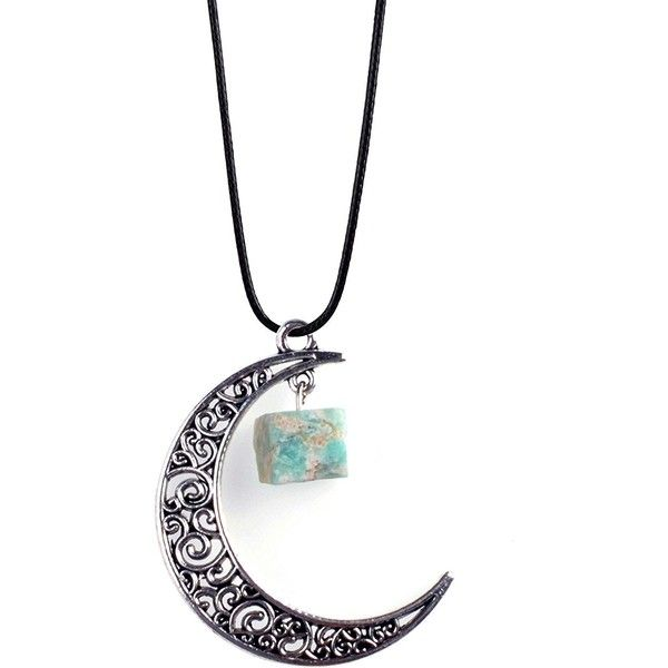 Amazon.com: ZHEPIN Simple Moon Pendant Mens Memorial Necklace Fashion... ($8.99) ❤ liked on Polyvore featuring men's fashion, men's jewelry, men's necklaces, mens watches jewelry, mens pendant necklace, mens necklaces and mens pendants