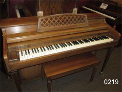 Kimball Whitney Spinet Piano