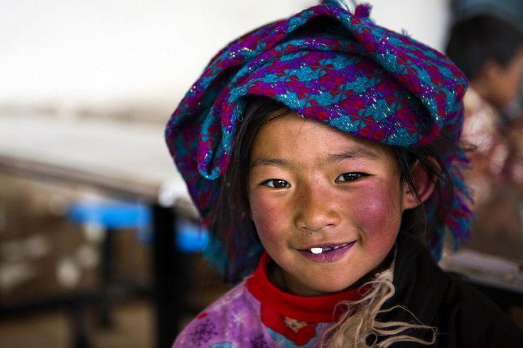 Tibetan child Tibetan national culture gallery