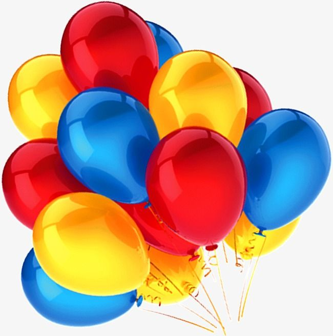 Pin By Kidnesis Neuropsicomotricidad On Clipart 4 Blue Balloons Balloons Red Balloon