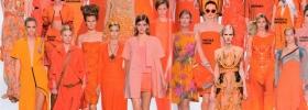 Los colores de moda, el naranja para el verano de 2012