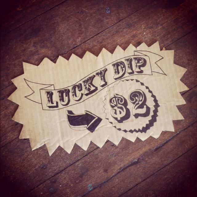 LUCKY DIPS!!  Wonder100! Charity Fete