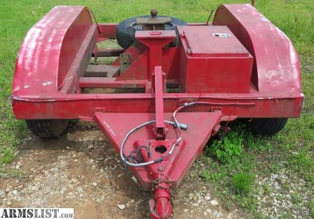 For Sale:  Stehl gooseneck tow dolly