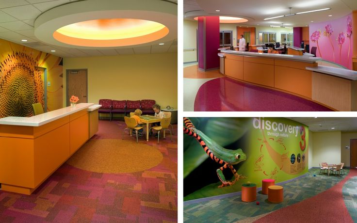 Category Type: Hospital  Project Name: Children's Healthcare of Atlanta  Designer: Stanley Beaman & Sears Link: stanleybeamansears.com/project/childrens-healthcare-of-atlanta-egleston-campus/ Type of Market: Children & Hospital & Learning Name: Marjorie Younger-Robinson
