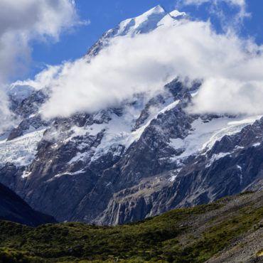 Mount Cook, New Zealand drawntoecology.com