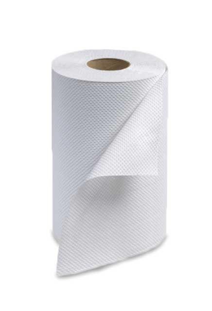 Tork, Hand Roll Towel 206': 24 rolls of 206', White hand roll towel
