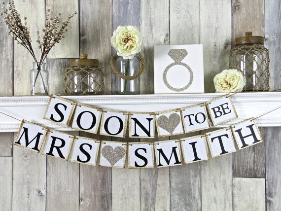 Hey, I found this really awesome Etsy listing at https://www.etsy.com/listing/114430777/soon-to-be-mrs-banner-bridal-shower