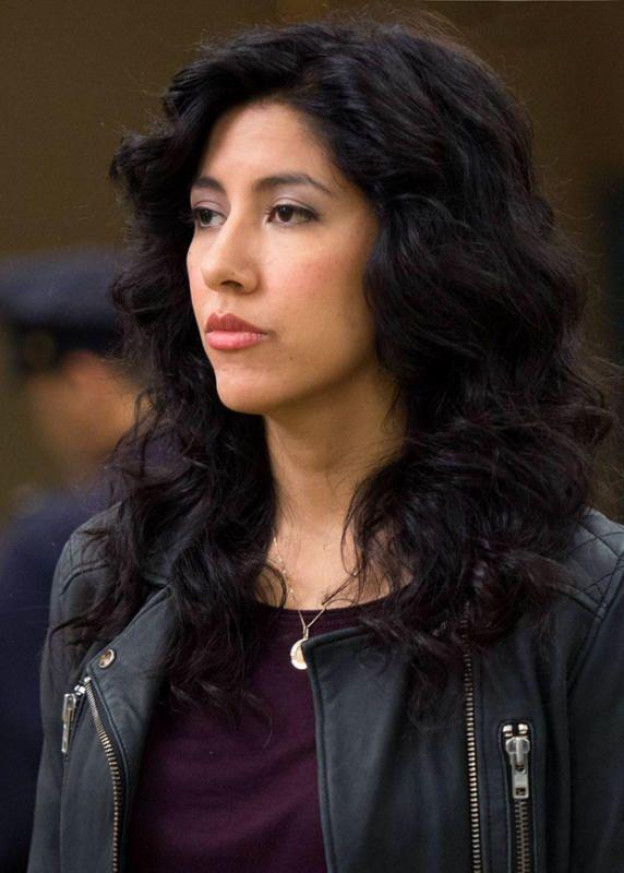 Gina Rodriguez and Stephanie Beatrizs Brooklyn Nine-Nine