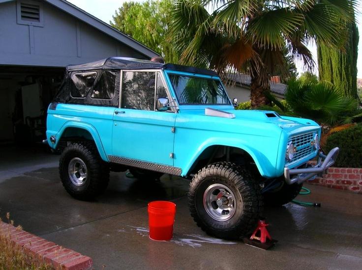 71 Grabber Green by Tom\'s Bronco | Bronco | Pinterest | Tom s, Ford ...