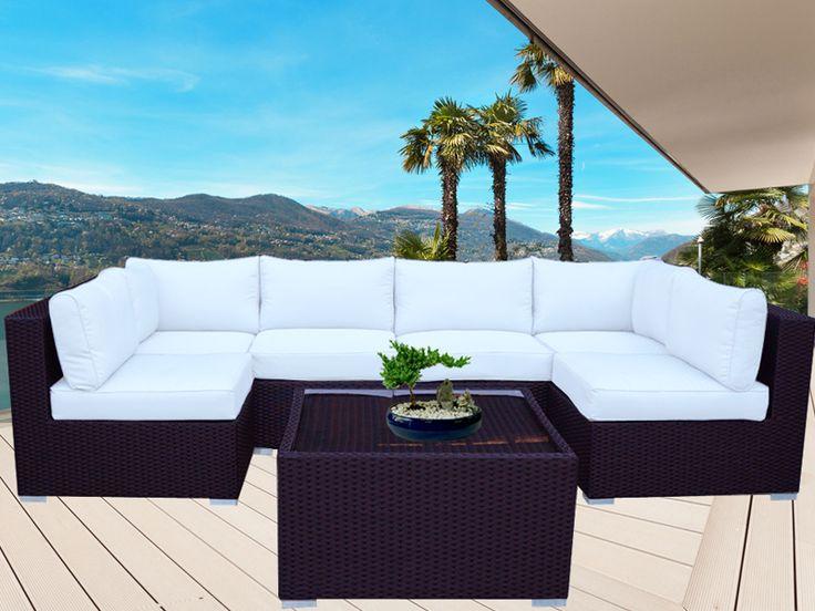 Brown Majeston Modular Outdoor Furniture Lounge