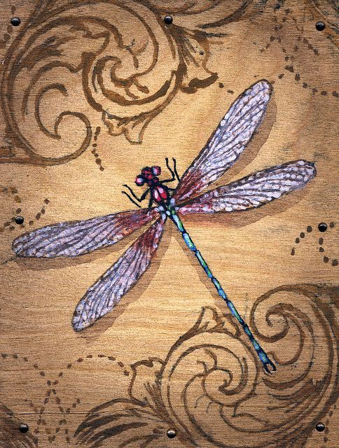 dragonfly paintings | Dragonfly Paintings | Dragonfly Painting | Flickr - Photo Sharing! ABSOLUTELY EXQUISITE!!