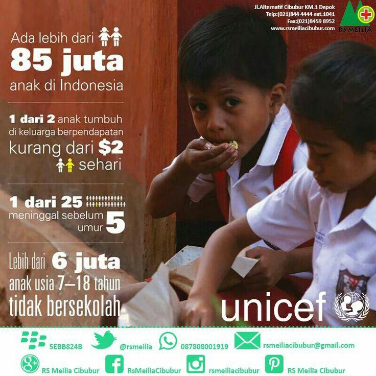 Support #anak #indonesia #pendidikan #kesehatan #rsmeilia #cibubur #depok #cileungsi #bekasi #bogor #jakarta #sehat