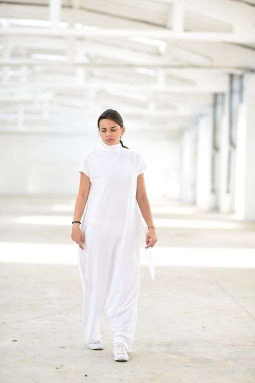 f9c4143495 Shortsleeve Harem Jumpsuit in 2019