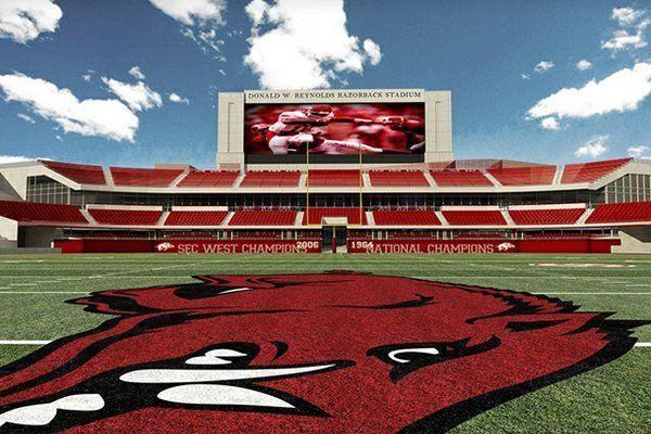 Razorbacks | University of Arkansas | Donald W. Reynolds | Woo Pig Sooie | #Hogs