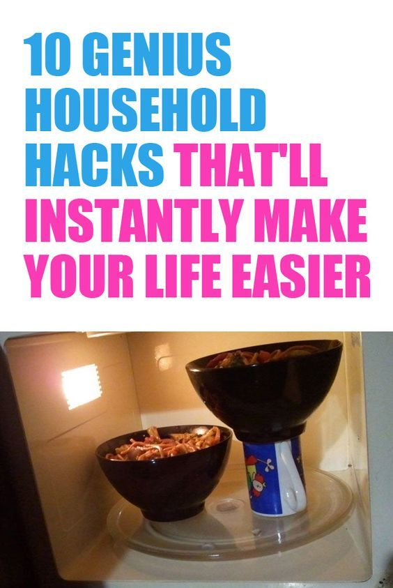 Where have these been all my life?! http://lifeasmama.com/10-genius-household-lifehacks-to-make-your-life-easier/: