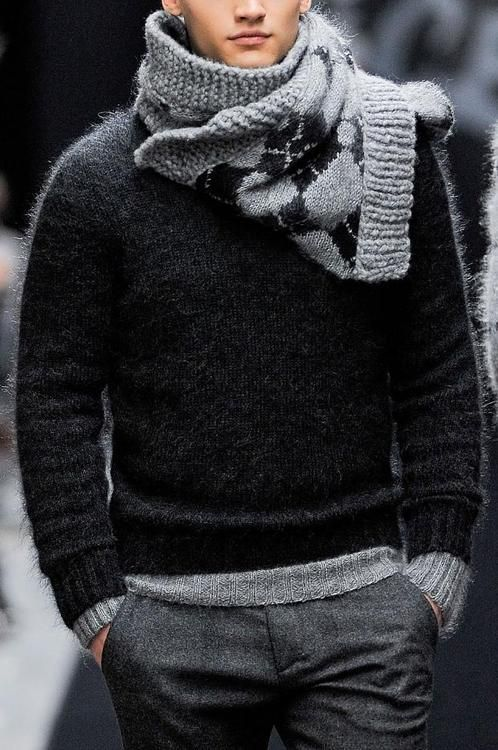 Wool, great scarf.