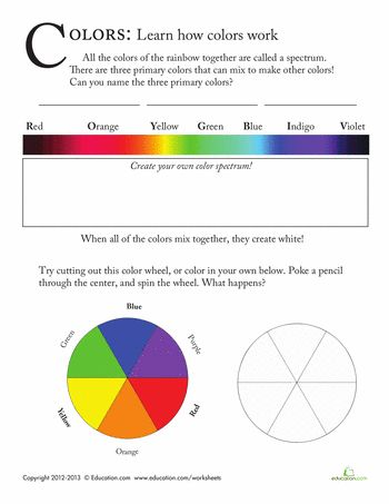 color spectrum essay The nature of gas determines the pure spectral color  requires a spectrum  the unique design supplies a voltage that prolongs the life of the spectrum tubes.