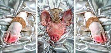Künstlerisches Gemetzel: Fleischbeschau auf der Carne 2010