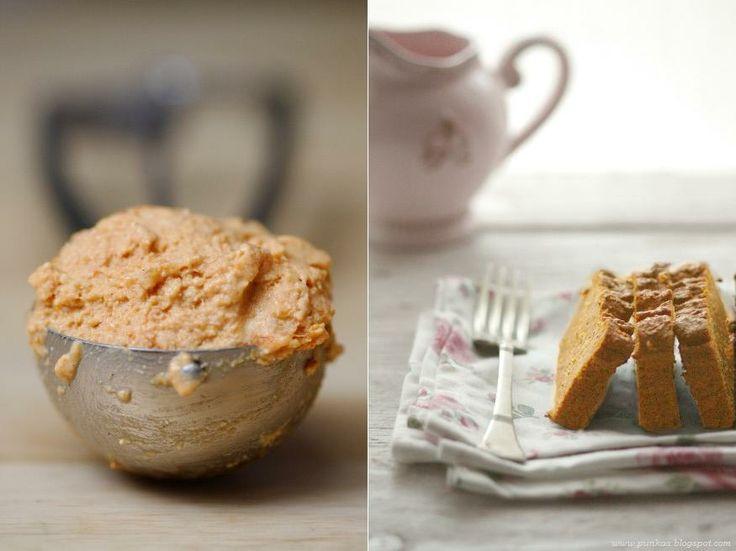 sütőtökös - quinoás kenyér és sütőtökös mézes joghurtfagyi