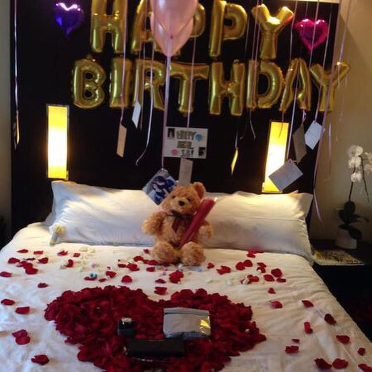 25 best ideas about romantic birthday on pinterest for Bedroom gifts for her