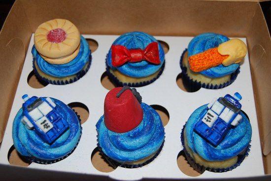 Cute Doctor Who Cupcakes on Global Geek News.