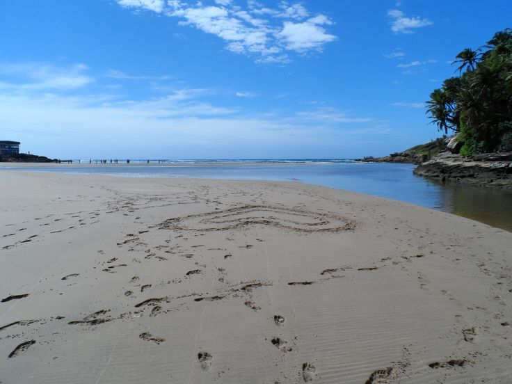Loving the beach in KZN