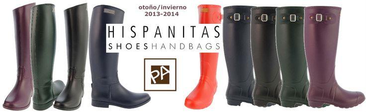 Hispanitas, Hunter, Mustang... todo para la lluvia en http://www.paulaalonso.es/283-comprar-botas-agua-mujer-tienda-online