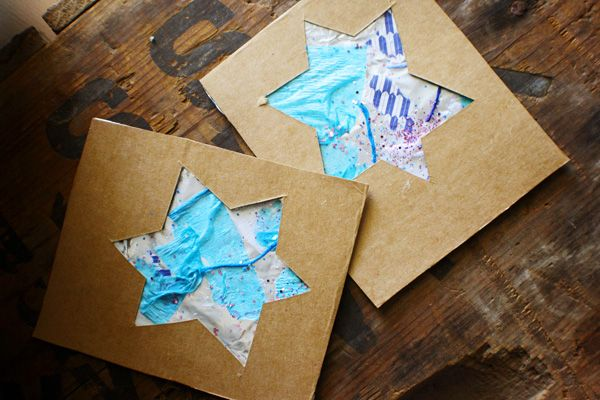 Really cute Hanukkah cards to make with the kids...