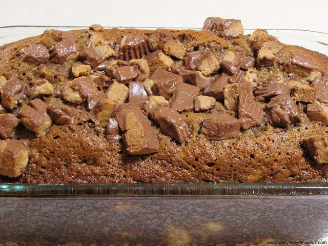 Reese's Peanut Butter Cup Bread | Crazy Sexy Delicious | Pinterest