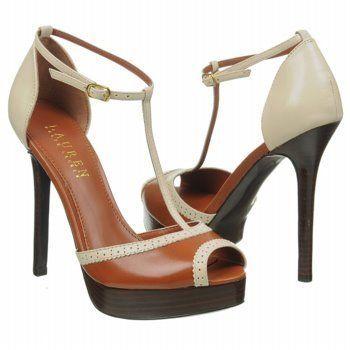 Lauren Ralph Lauren Women's Dallas Pump Lauren by Ralph Lauren. $120.00. leather. Leather sole