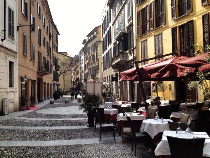 #Via #Brera #Milano #Italy