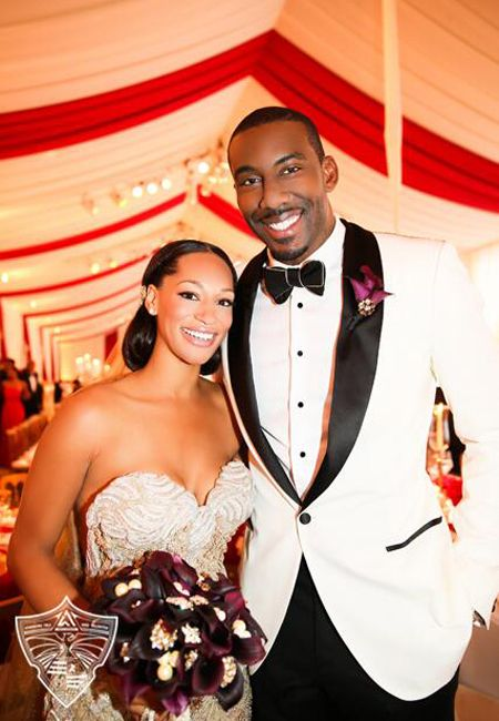 Amar'e Stoudemire and wife