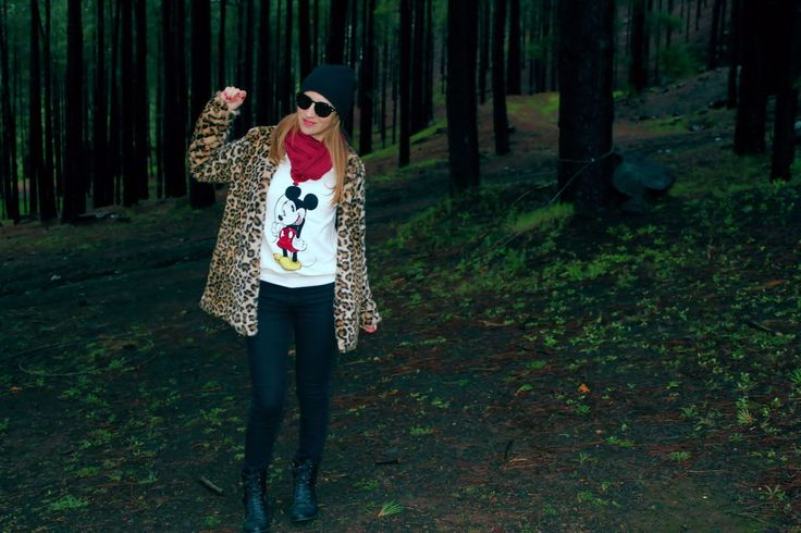 *******Pasión Naïf*******: Abrigo de leopardo