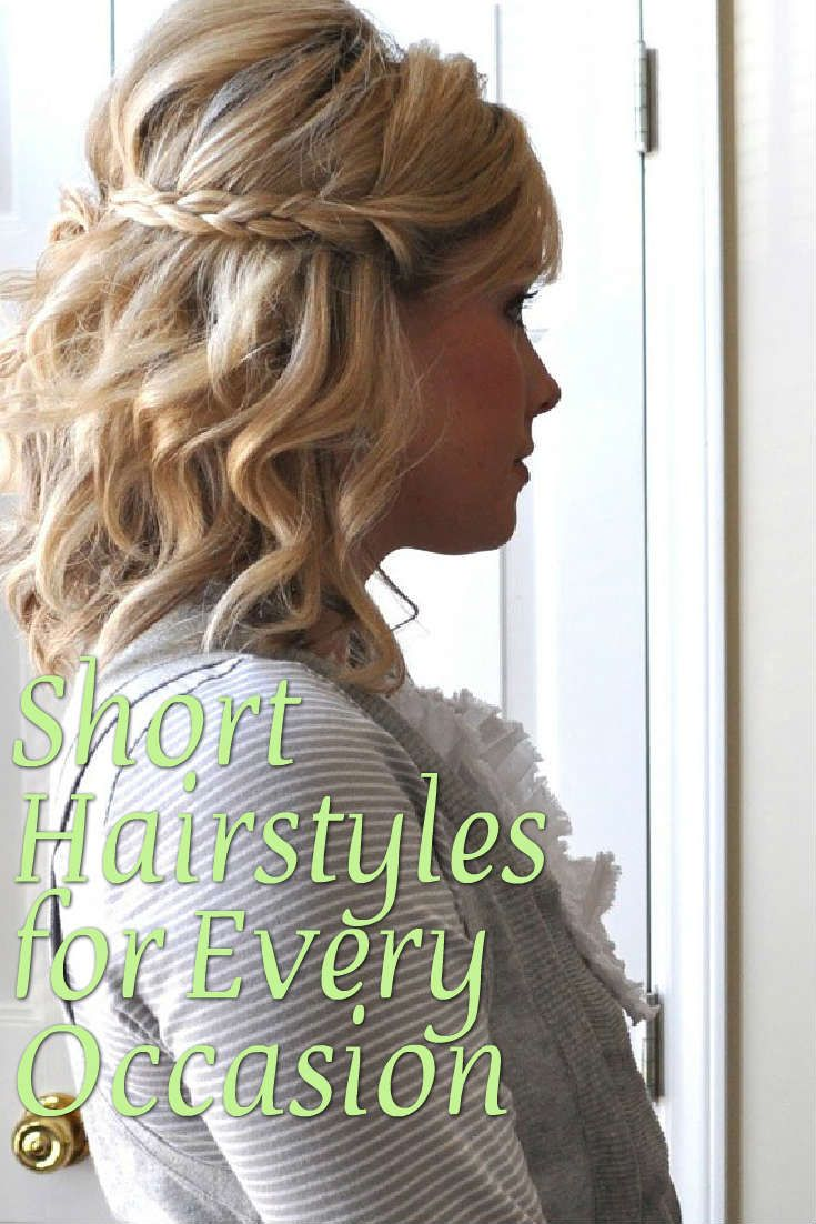 short hairstyles for every occasion | jennifer | hair styles