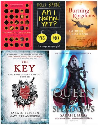 A Book from the Beginning: Top 10 YA Books of 2015