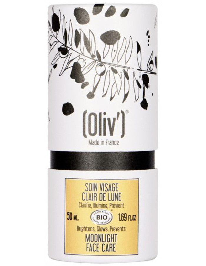 Oliv Bio Moonlight Face Care een rijke volle dag- en nachtcrème op basis van biologische olijfolie wat de vorming van pigmentplekken helpt voorkomen en bestaande pigmentvlekken vermindert. Bovendien stimuleert het de celvernieuwing van onze huid waardoor het haar weer stevigheid en spankracht geeft.