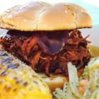 Texas pulled pork in slow cooker
