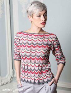 Women's Jumper: free knitting pattern