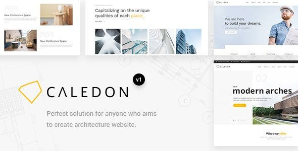 Caledon – Modern WordPress Theme For Architecture & Interior Companies    Caledo…