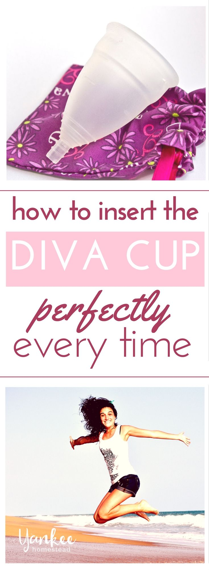 How to Insert the Diva Cup Perfectly Every Time | Yankee Homestead