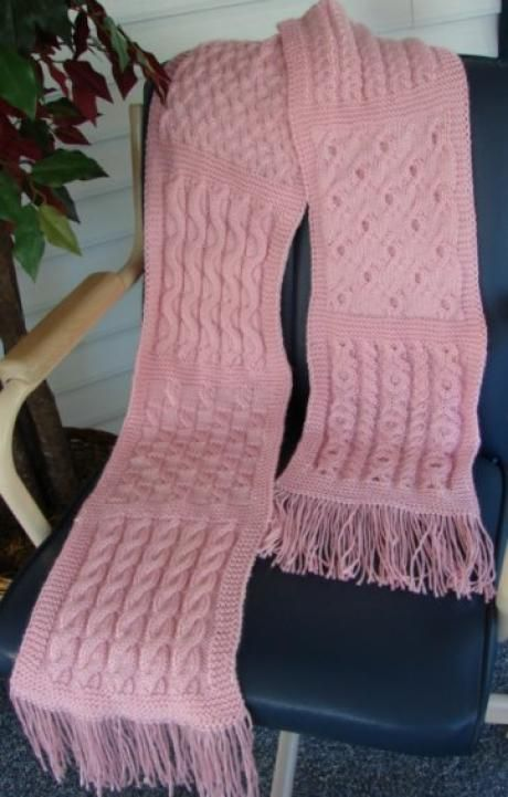 Debbie Macomber Knitting Patterns : Cable Knit Sampler Scarf Debbie Macomber knitting Pinterest Projects,...