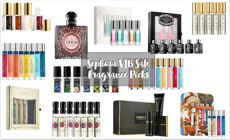 Sephora Vib Sale Fragrance Picks