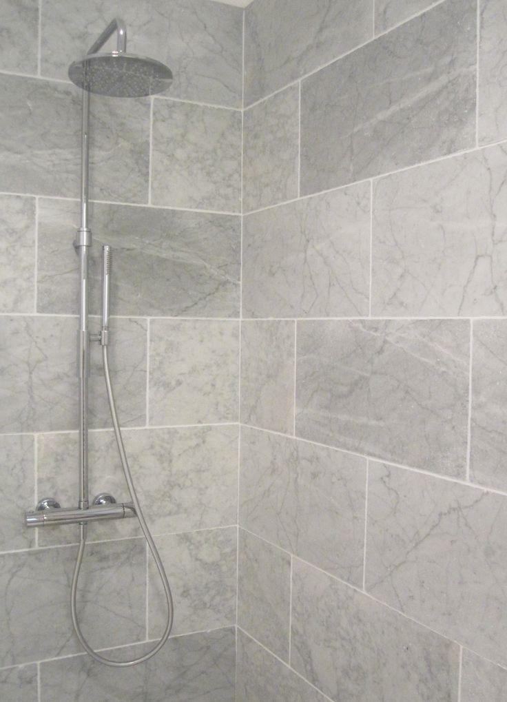 Best 25 Gray Shower Tile Ideas On Pinterest  Grey Tile Shower Interesting Best Tile For Small Bathroom Inspiration Design