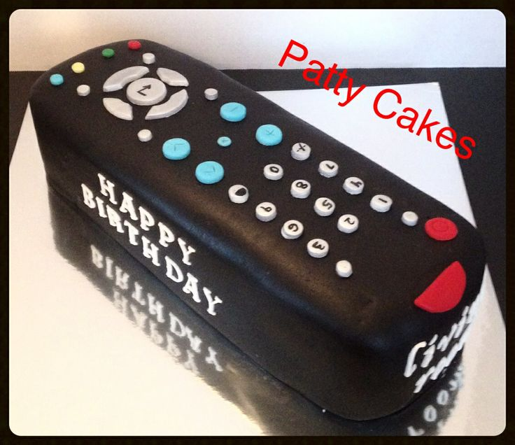 Tv Remote Control Cake Patty Cakes Cakes Cookies