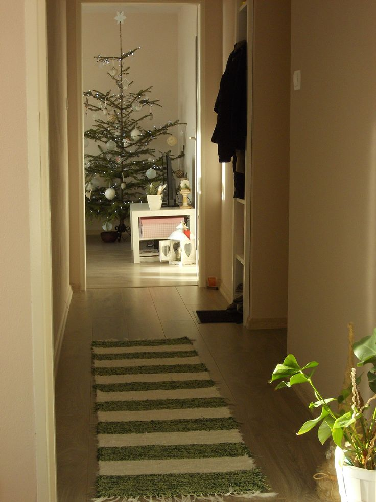 christmas from our hallway