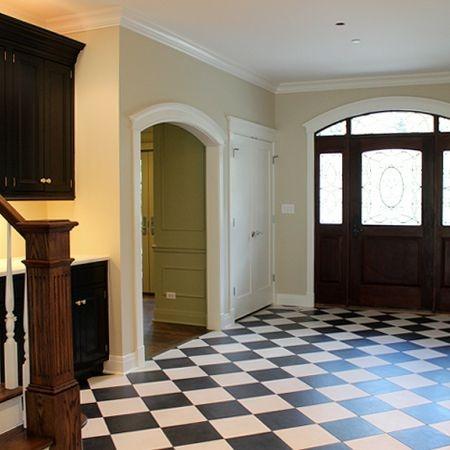 Love a tiled hall.