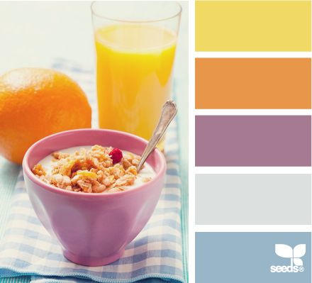 color breakfast: Colors Combos, Kitchens Colors, Color Palettes, Design Seeds, Colors Palettes, Colors Combinations, Colors Breakfast, Colors Schemes, Kitchens Cabinets