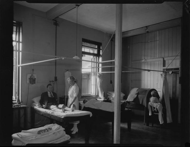 095505PD: Perth Hospital, men's ward, c1934.  http://encore.slwa.wa.gov.au/iii/encore/record/C__Rb2404102__S095505pd__Orightresult__U__X3?lang=eng&suite=def