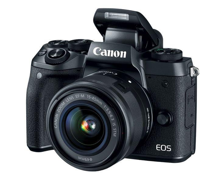 Mirrorless camera fans, meet Canon's EOS M5.