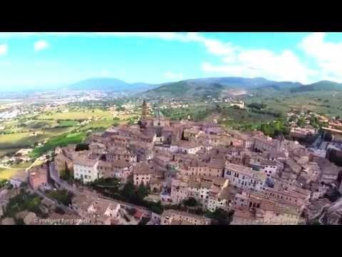 Trevi - Perugia - Umbria #ItalybyDrone #IlikeItaly #Italia #Italy @umbriaontheblog